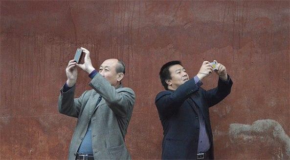 2010 yılı itibariyle Çin?de cep telefonu kullanıcısı sayısı 860 milyon. Fotoğraf: Deniz Ergürel (Kasım 2011)